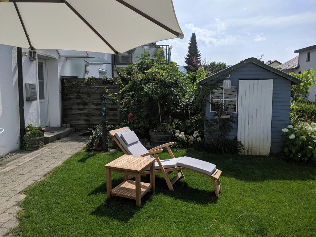 Garten Ferienwohnung Kreitmeir